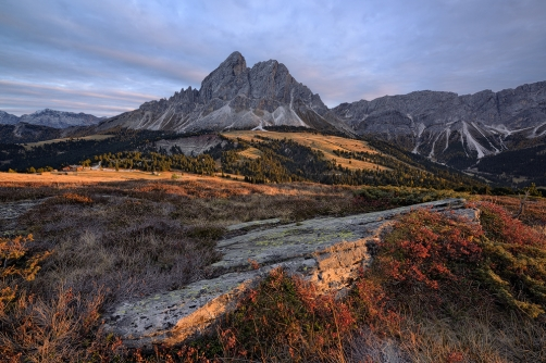 Passo delle Erbe, Dolomity, Itálie